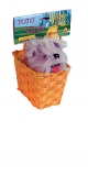 Dorothy's Toto in a Basket