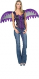 Bodice With Wings (Purple)