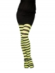 Tights (Striped - Green and Black)