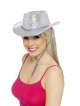 6 Assorted Cowboy Glitter Hats