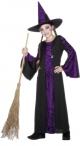 BEWITCHED COSTUME,Purple/Black,Dress,Hat