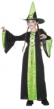 BEWITCHED COSTUME,Green/Black,Dress,Hat
