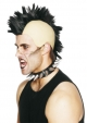 Wig (Mohican - black)