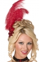 Sequin Feather Hair Clip - Bijou Boutique