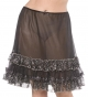 Knee Length Petticoat (Black - Bijou Boutique)