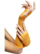 Glovelets (Fishnet - Orange)