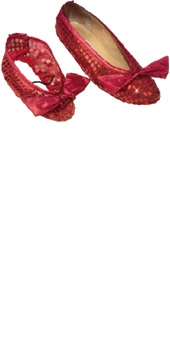 Dorothy\'s Ruby Shoe Covers (Child)
