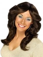Wig (70\'s Flick - Brown)
