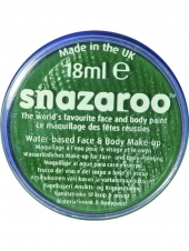 Green Snazaroo Facepaint 18ml