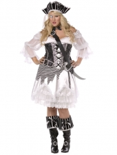 Pirate Package (White Plus Size - Bijou Boutique)
